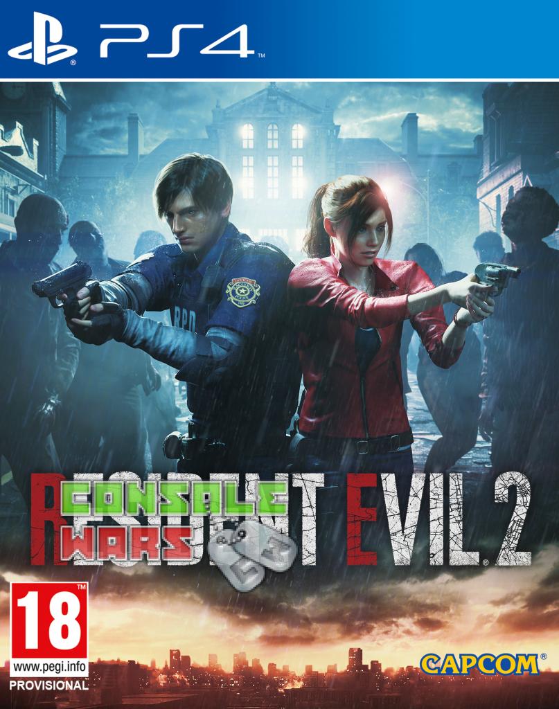 Игра RESIDENT EVIL2 (русс)