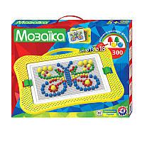 Игра Мозаика пластиковая 300 элементов, разные диаметры фишек, Технок 7 Украина 2100
