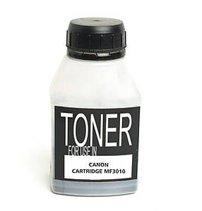 Тонер для Canon MF3010 (чёрный порошок) совместимый, 80 грамм / флакон (1 х заправка)