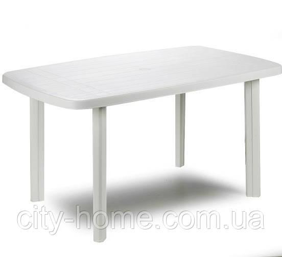 Стол пластиковый Faro (белый)