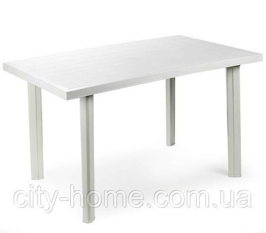 Стол пластиковый Velo (белый), фото 2