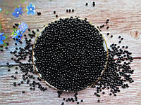 Жемчуг дорогой искусственный, 3 мм, цвет черный, 10 грамм (~720 шт)