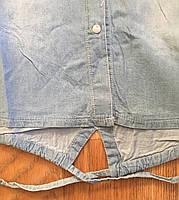 Джинсовые рубашки для девочек оптом, S&D,134-164 рр.,  Арт. KK-742, фото 4