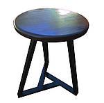 Опора для стола Трио сталь d430, h725, d700 черный, Аурит, фото 3