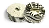 Круги Scotch-Brite™ Roloc™ Bristle RD-ZB 07529, для изделий из нержавеющей стали, d 75 мм, P120, белый
