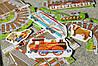 """Підлоговий пазл """"Залізниця"""" Orchard Toys - 22 елемента, фото 3"""