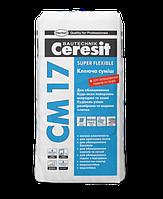 Клей для плитки Ceresit CM-17, 25кг