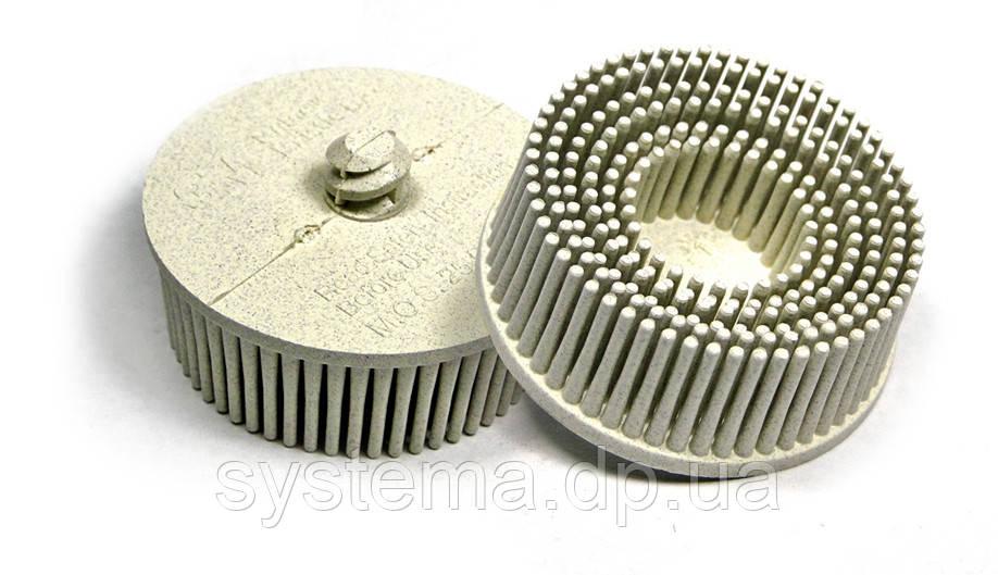 Круги Scotch-Brite™ Roloc™ Bristle RD-ZB 07528, для изделий из нержавеющей стали, d 50 мм, P120, белый