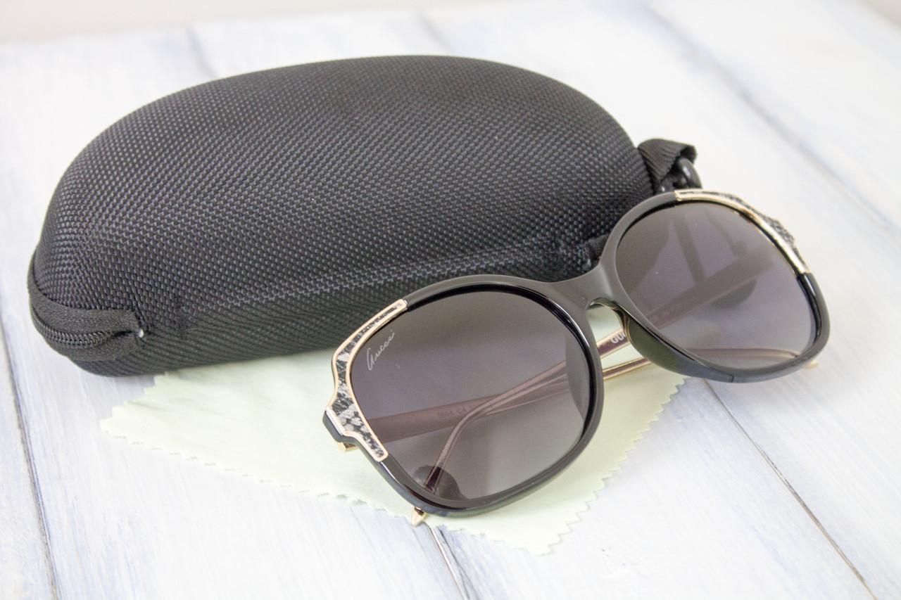 Брендовые очки копия Gucci (5604-4)  Реплика