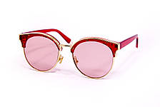 Очки с футляром розовые (F1071-4), фото 3