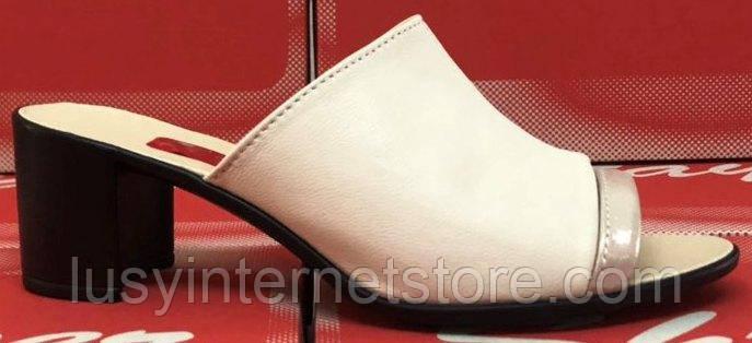 c00c1acca Летние сабо кожаные на каблуке от производителя модель СТЛ11К ...