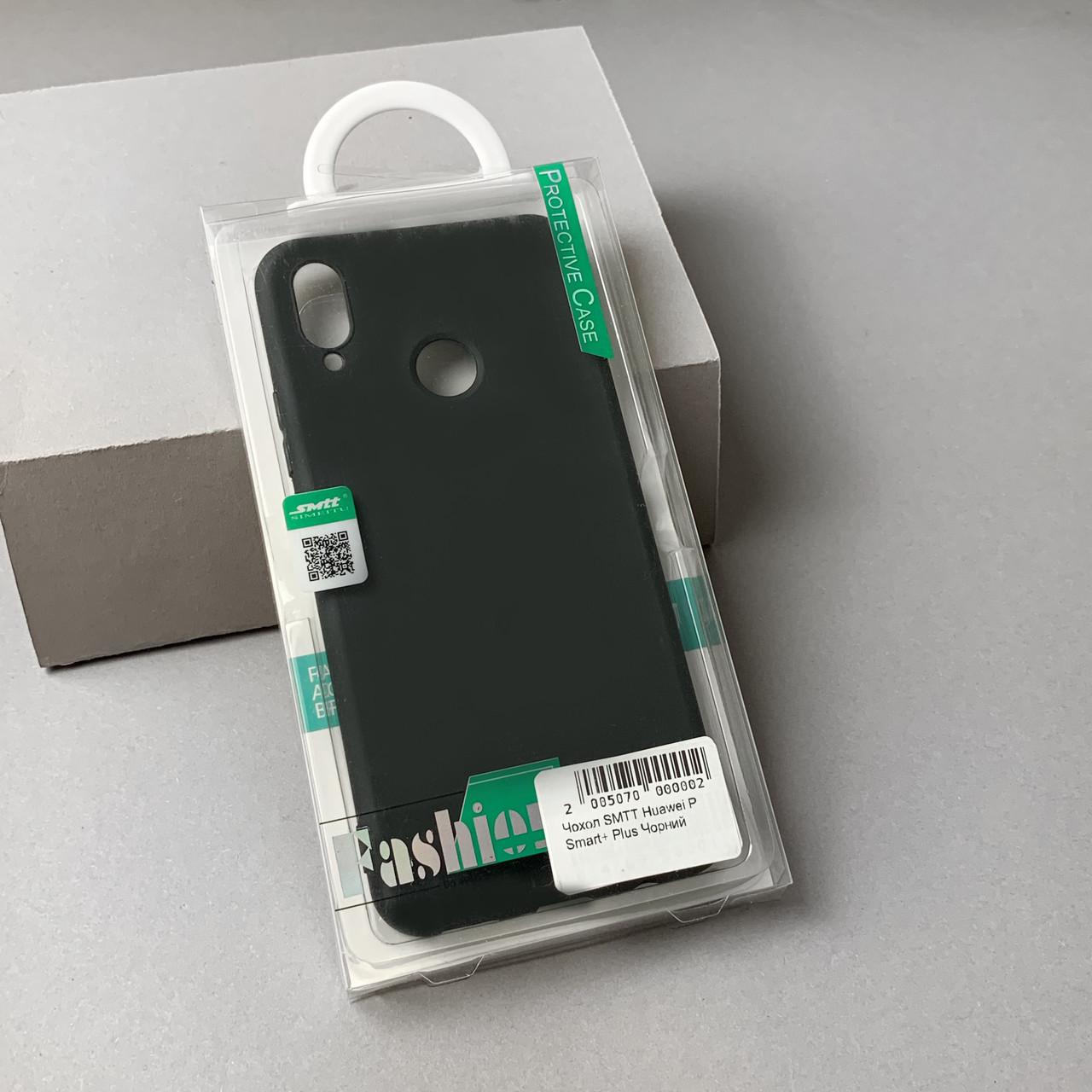 Чехол SMTT Huawei P Smart+ Plus Черный