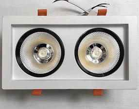 Светодиодный светильник поворотный SEAN SC36WK 36W 4200K белый Код.59516