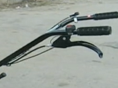 Удобный руль культиватора Iron Angel GT 06