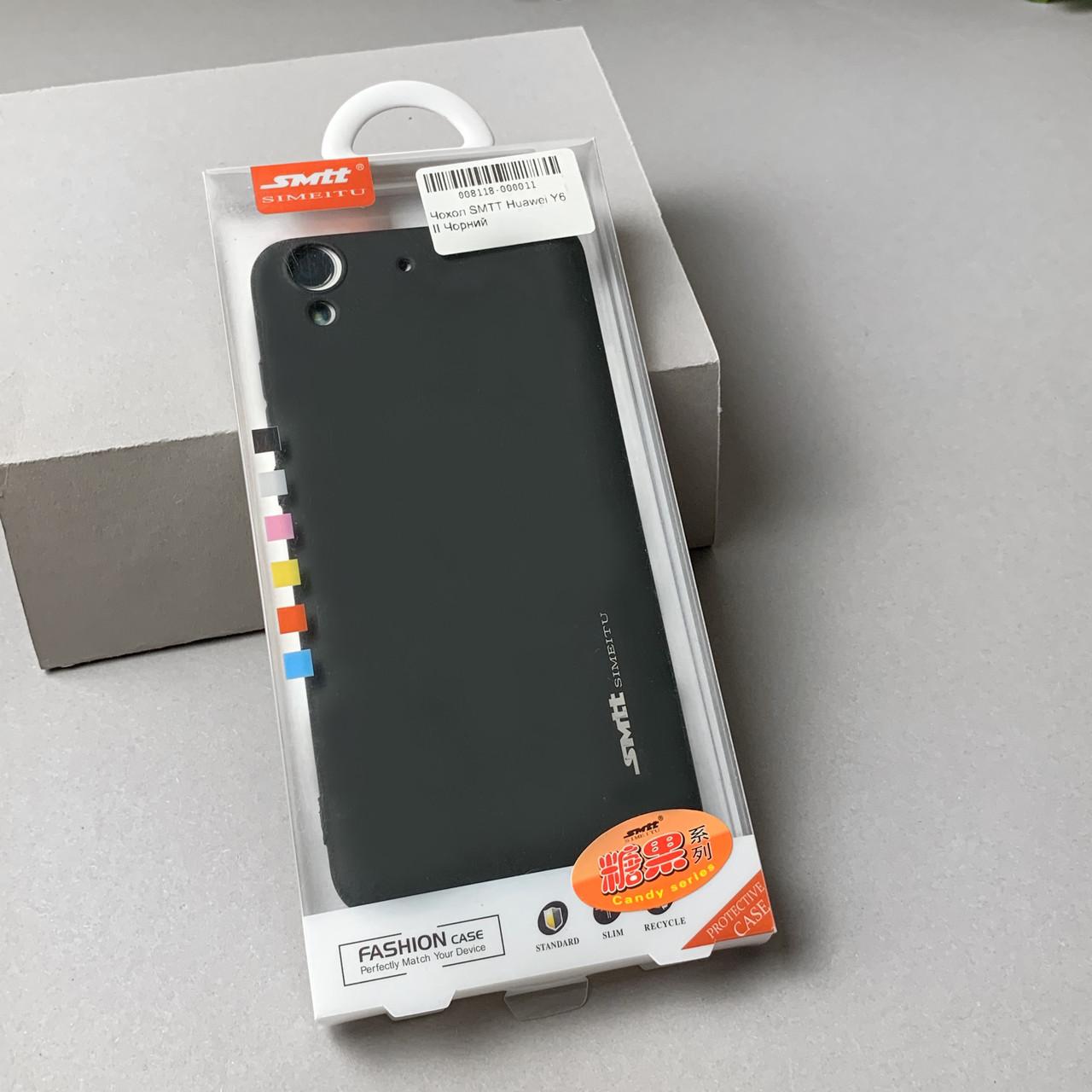 Чехол SMTT Huawei Y6 II Черный