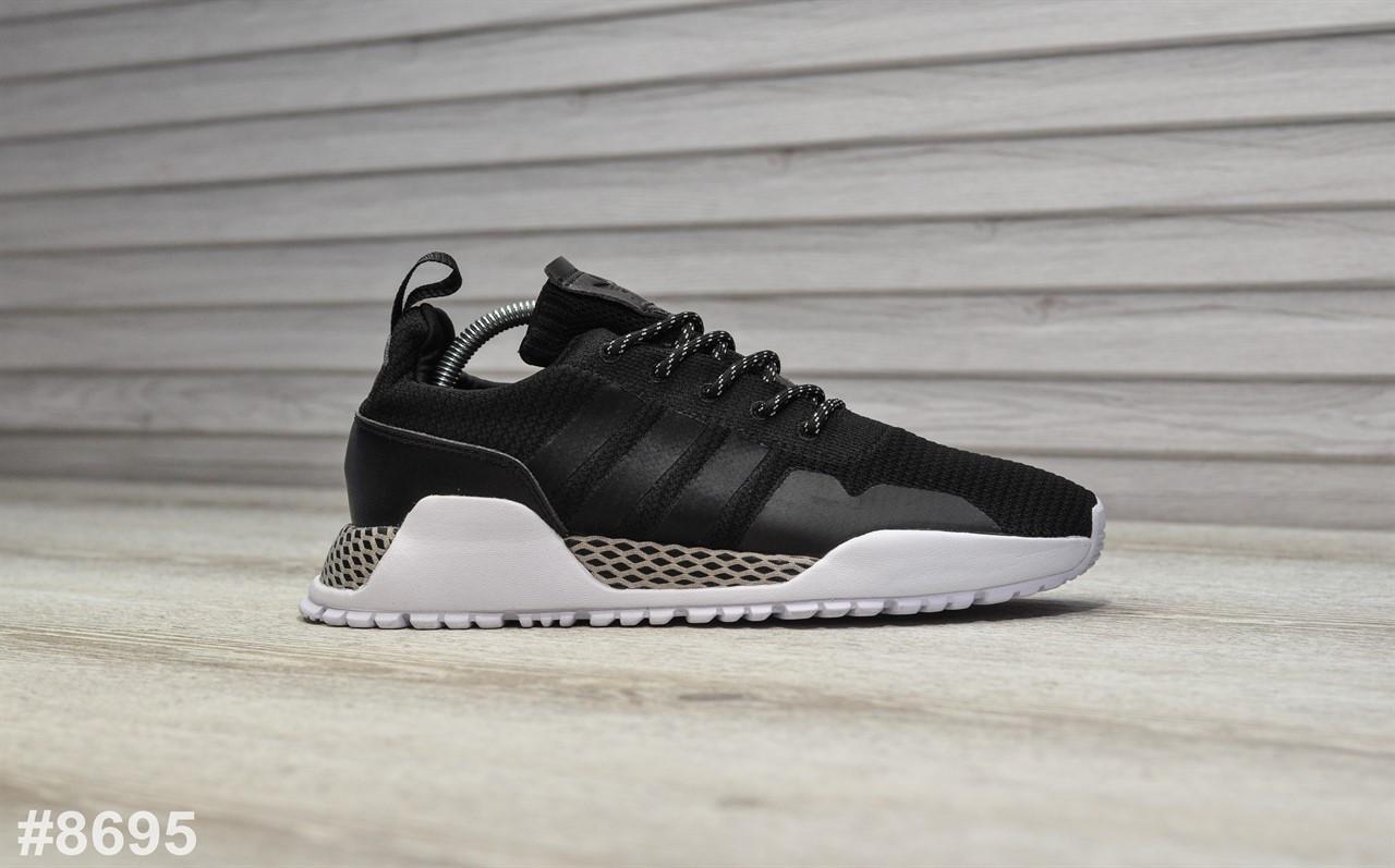 Женские кроссовки Adidas AF 1.4 Primeknit Black White