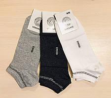 Носки демисезонные хлопок укороченные Versace Турция размер 41-45 ассорти