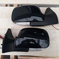 Боковые зеркала с повторителем поворота черного цвета на Ваз 2108 - 21099, Ваз 2113 - 2115