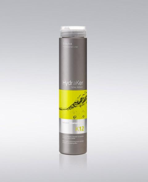 Шампунь кератиновый без сульфатов Erayba HydraKer K12 Keratin Shampoo 250 мл