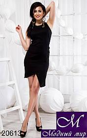 Женское короткое льняное платье (р. S, M, L) арт. 20613 S