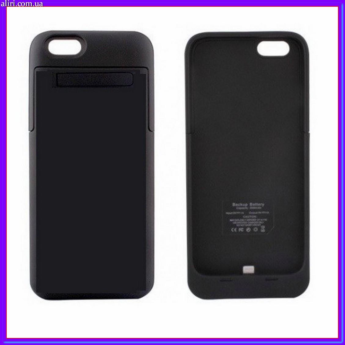 32606cd8cb307 Чехол-аккумулятор для Apple iPhone 5 2200 mAh черный - Интернет магазин