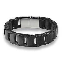 Мужской браслет - Свирепая мамба (Черный)