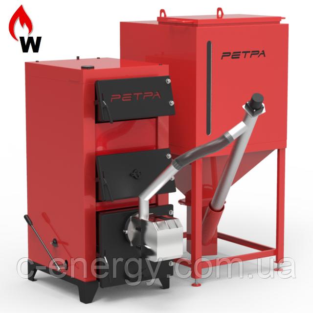 Котел твердотопливный Ретра-5М KOMFORT 20 кВт (под пеллетную горелку)