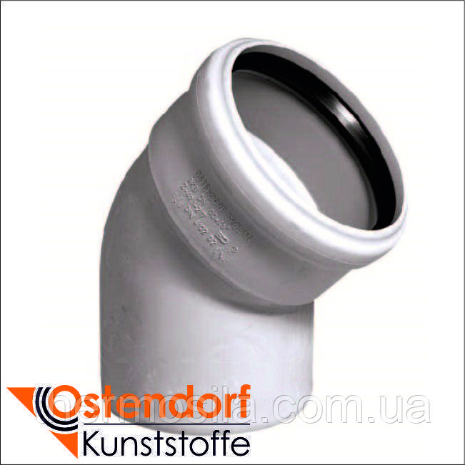 Ostendorf SKOLAN Колено 45° DN 110 SKB