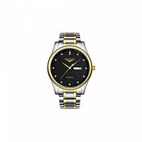 Часы Guanqin Gold-Black-SilverGold GQ80009-2A CS