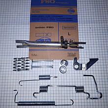 Ремкомплект задних тормозных колодок левый Шевроле Авео Chevrolet Aveo 96456494 FSO