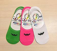 Следы - подследники женские летние microfiber Adidas Турция размер 36-40