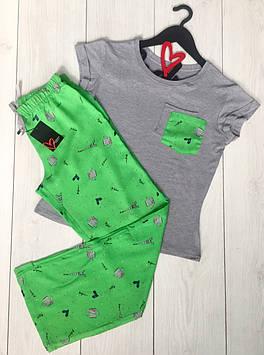 Женская пижама,одежда для дома футболка и штаны