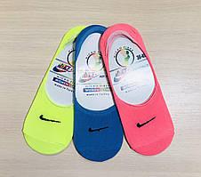 Следы - подследники женские летние microfiber Nike Турция размер 36-40