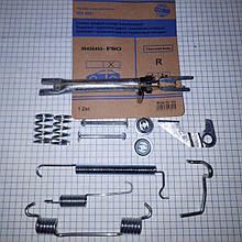 Ремкомплект задних тормозных колодок правый Шевроле Авео Chevrolet Aveo 96456495 FSO
