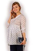 Блуза для беременных Путешествие (42-48)