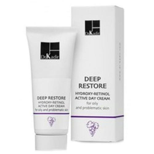 Дневной крем с кислотами  для жирной и проблемной кожи Dr. Kadir Deep Restore Day Cream  75мл  126