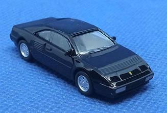 Модель Ferrari micro cars Mondeal T в масштабе 1:100 (черный)