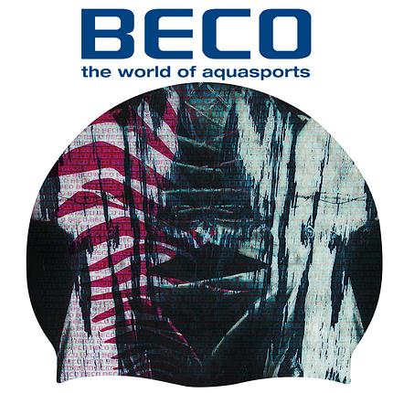 Шапочка для плавания BECO Stardust 73994 силикон, фото 2