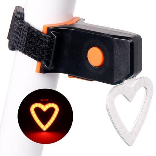 """Фонарь велосипедный X3 """"STOP"""" (красный) аккум Li-ion, micro USB"""