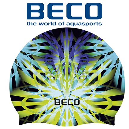 Шапочка для плавания BECO Stardust 73995 силикон, фото 2
