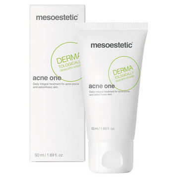 Крем для кожи склонной к акне с ретинолом  Мезоэстетик Акнелан Mesoestetic - Acnelan - Acne one 50 мл