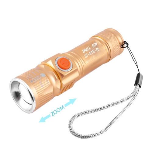 Фонарь Small Sun ST-515-T6, zoom, ЗУ USB