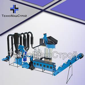Линия гранулирования МЛГ-1500MAX c аэродинамическим осушителем