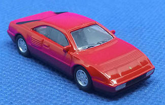 Модель Ferrari micro cars Mondial T в масштабе 1:100 (красный)