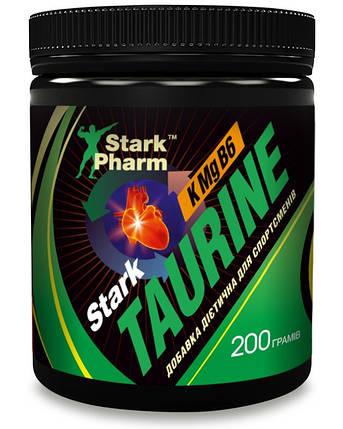 Taurine & KMgB6 Stark Pharm 200 g (таурин, магній, вітамін B6), фото 2