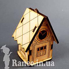 Деревянный домик шкатулка №11