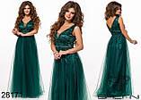 Вечернее женское платье размер: 42,44,46, фото 4