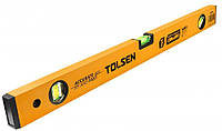 Уровень Tolsen 60 см 3 капсулы алюминиевая рамка 1 мм (35066), фото 1