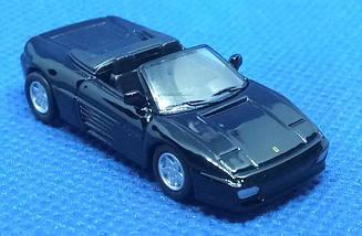 Модель коллекционная Ferrari micro cars 348 Spider в масштабе 1:100 (черный)