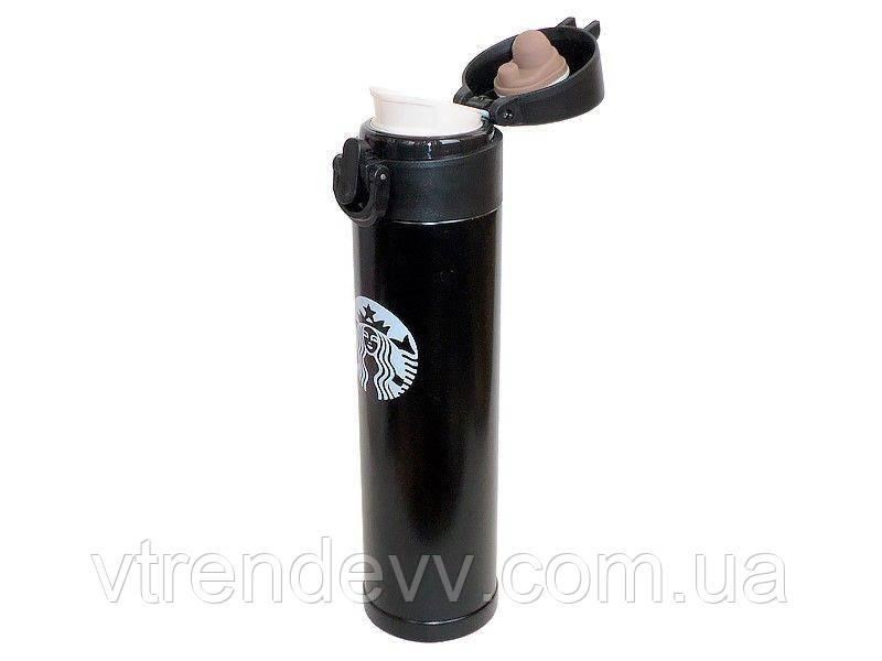 Термос Starbucks Старбакс 380 ml черный